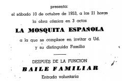 Pozvánka_na_veselohru_Španělská_muška_10-říjen_1953_1
