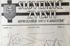 Slovenské zvesti Reprezentaciaj SOV