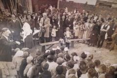 Allianza Checoslovaca, Buenos Aires,<br/> <i>Slavnostní otevření české školy za přítomnosti velvyslance dr. Františka Kadeřábka, 1936</i>